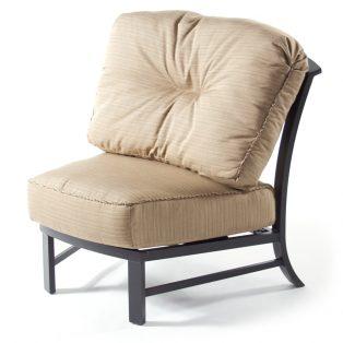 Ellington armless club chair