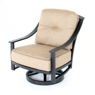 Ellington spring swivel club chair