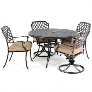 Heritage 5 piece dining set