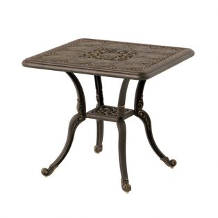 "24"" square St. Moritz end table"