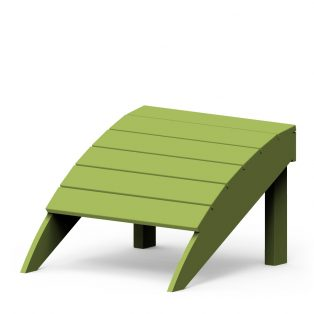 Adirondack foot stool with a Leaf finish