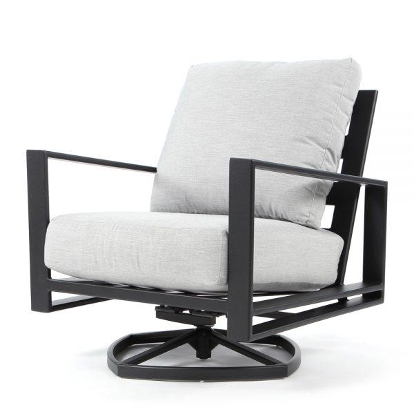 Gios swivel rocker club chair