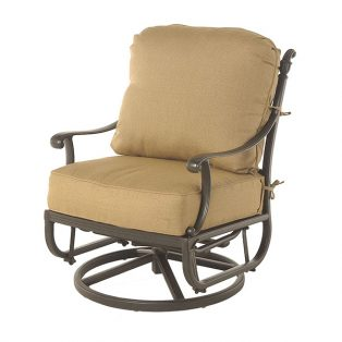 Grand Tuscany swivel glider club chair