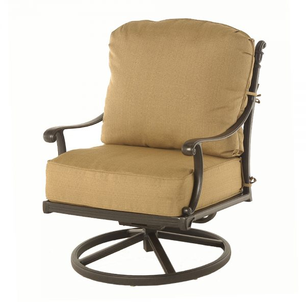 Grand tuscany swivel rocker club chair