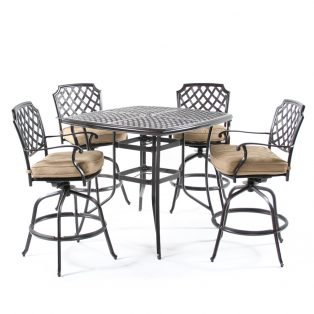 Heritage outdoor bar set