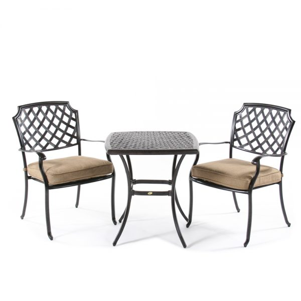 Heritage 3 piece cafe bistro set