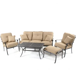 Heritage 5 piece deep seating set