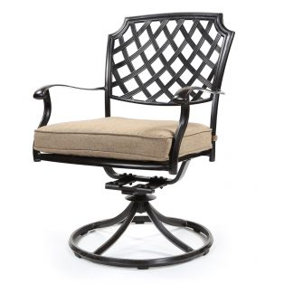 Heritage swivel rocker