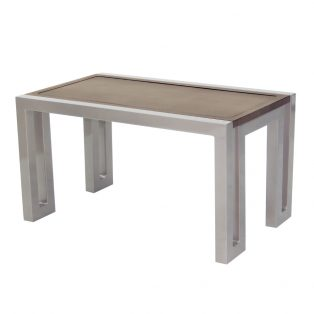 "Castelle 34"" x 18"" rectangular icon coffe table"
