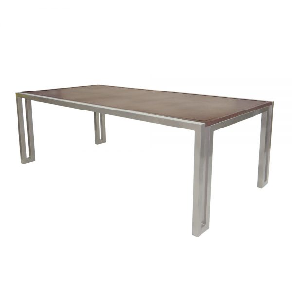 """Castelle 84"""" rectangular icon dining table"""