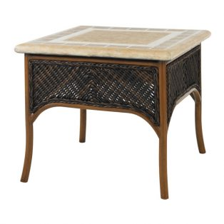 "Island Estate Lanai 26"" square accent table"