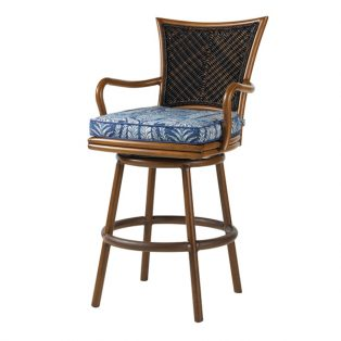 Island Estate Lanai swivel bar stool