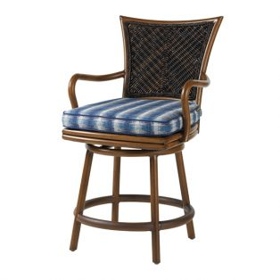 Island Estate Lanai swivel counter stool