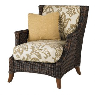 Island Estate Lanai lounge chair and throw pillow