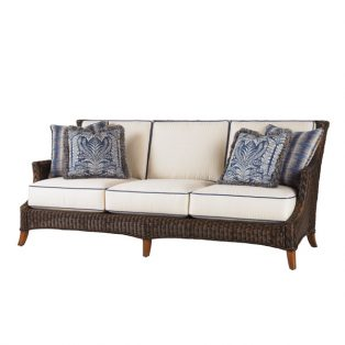 Island Estate Lanai wicker sofa