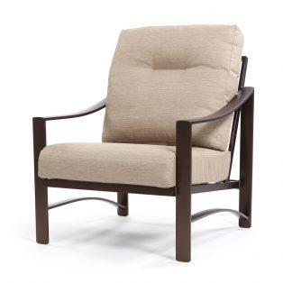 Kenzo lounge chair - Light Brewed fabric