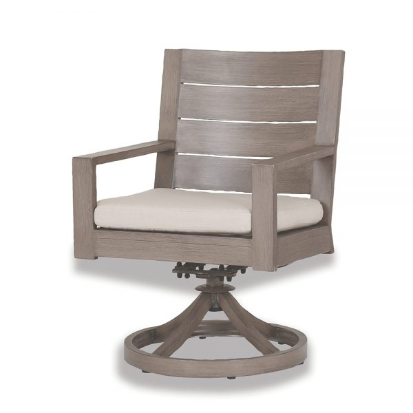 Laguna swivel rocker dining chair