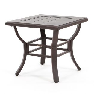 "Laurel 24"" square slat top end table"