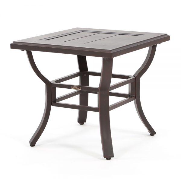 "Laurel 24"" square slat top end table"
