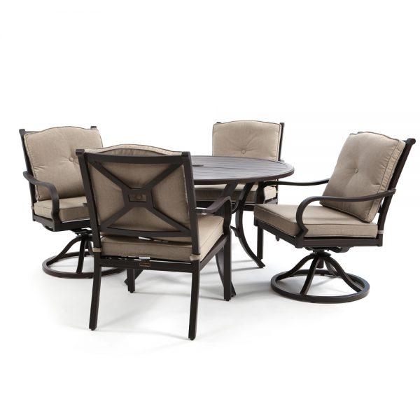 Laurel 5 piece patio dining set