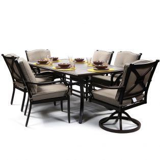 Laurel 7 piece outdoor dining set