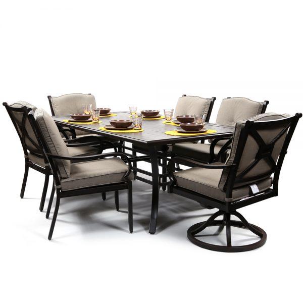 Laurel 7 piece outdoor dining set