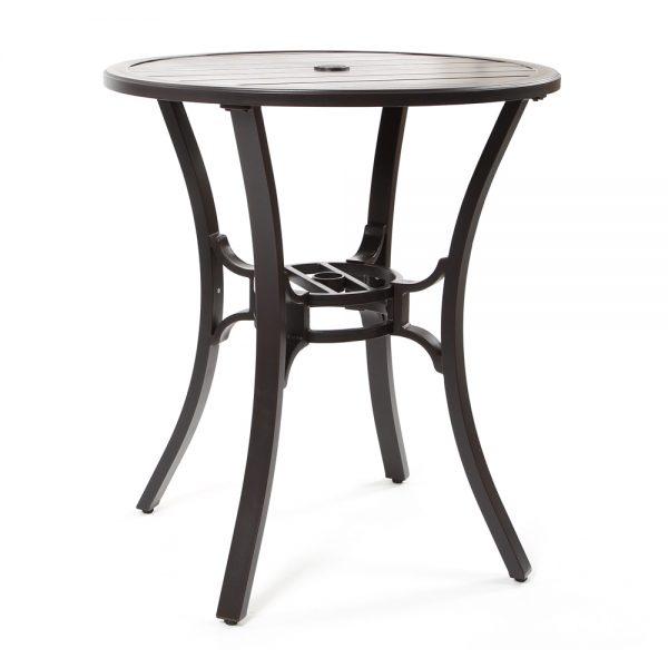 "Laurel 36"" round bar table"