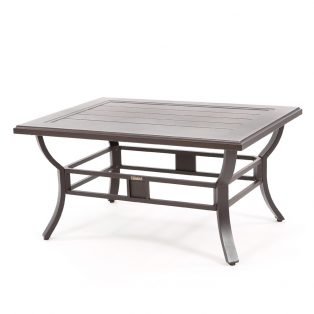 "Laurel 35"" x 48"" rectangular slat top coffee table"
