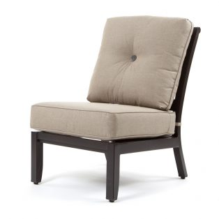 Laurel armless sectional chair