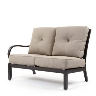 Laurel left arm sectional loveseat