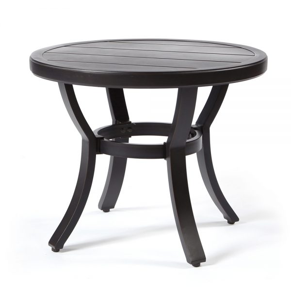 """Sunvilla 22"""" round slat top end table"""