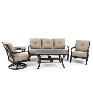 Laurel 5 piece deep seating patio set