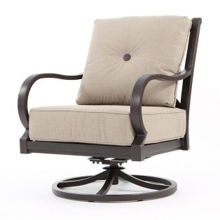 Laurel swivel rocking lounge chair