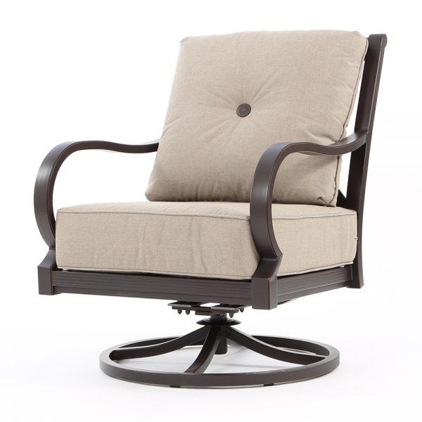 Laurel swivel rocking lounge chair