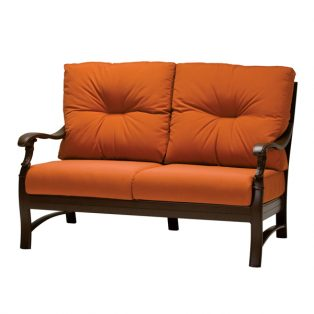 Ravello cushion love seat