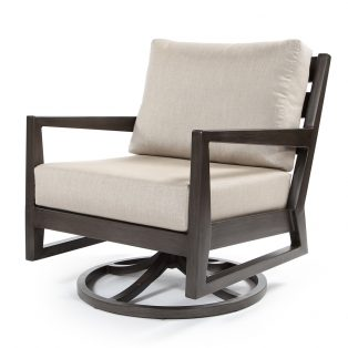 Lucia swivel rocker club chair