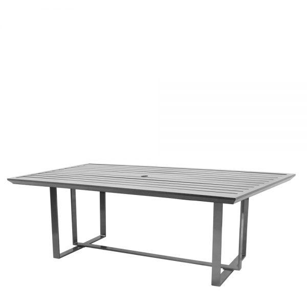 "Castelle 42"" x 84"" rectangle Moderna dining table"