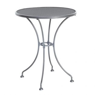 "Monaco 24"" round mesh top bistro table"