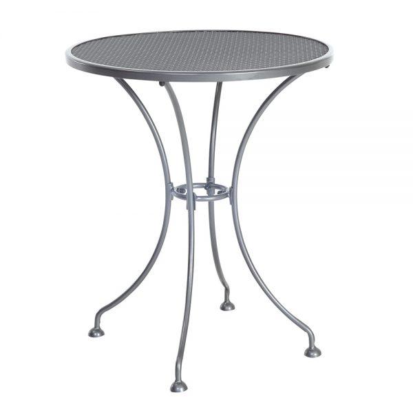 "Monaco 24"" round mesh top bistro table"