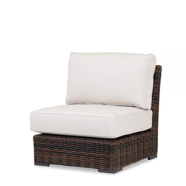 Montecito Wicker armless club chair