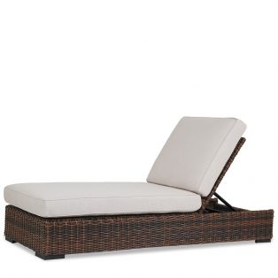 Montecito Wicker adjustable chaise