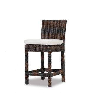 Montecito Wicker counter stool