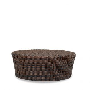 "Montecito Wicker 48"" round coffee table"