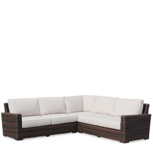 Montecito Wicker sectional sofa