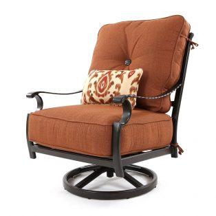 Monterey high back swivel rocker lounge chair