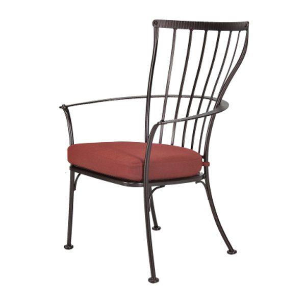 Monterra outdoor dining arm chair
