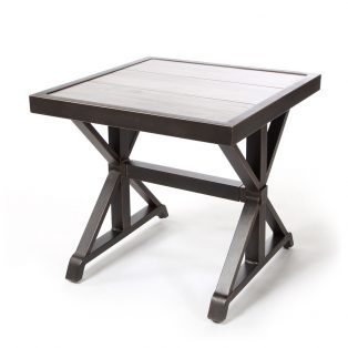 "Oak Grove 24"" square end table"