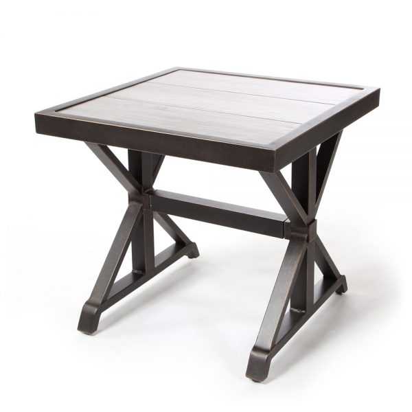 "Oak Grove 24"" square end table"
