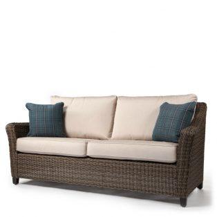 Oak Grove sofa with pillows