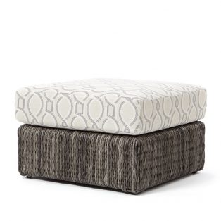 Orsay ottoman with Smoke weave and a Twist Smoke cushion